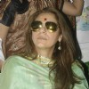 Bollywood actress Dimple Kapadia campaigns for Sanjay Nirupam at Borivli in Mumbai