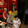 Maria Goretti with kids at Puma Gina Gony wear launch at Oberoi Mall in Mumbai