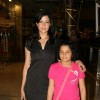Aditi Govitrikar with kids at Puma Gina Gony wear launch at Oberoi Mall in Mumbai