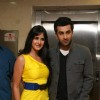 Katrina Kaif and Ranbir Kapoor at ''Ajab Prem Ki Gajab Kahani'' press meet at Yashraj, in Mumbai