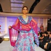 Model walks the ramp for designer Maheka Mirpuri at Taj President in Mumbai