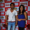 Bollywood Stars Bipasha Basu and Ajay Devgan visit the Big Fm studio in Mumbai [Photo: IANS]