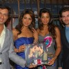 Madhur Bhandarkar, Priyanka Chopra, Mugdha Godse and Neil Nitin Mukesh at the music launch of her fo