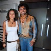 Udita Goswami and Anuj at Chase film bash