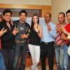 "Stars posing for shutterbugs at the promotional shoot of a new movie ""3 Nights 4 days"" at Oshiwara"