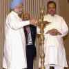 Prime Minister, Dr Manmohan Singh and Minister of Food Processing Industries Subodh Kant Sahai at the inauguration of State Food Processing Ministers'' Conference, in New Delhi on Tuesday