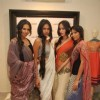 Top models posing for shutterbugs at Jade store