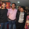 Jail Team Mugdha Godse and Neil Nitish Mukesh at Shivas Saloon launch at Juhu