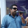 Popular singer-music composer Shankar Mahadevan at a promotional event for web portal Yahoo in Mumbai Thursday