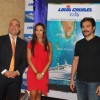 Bollywood Actor Arbaaz Khan with his wife Malaika Arora Khan pose for the photographers during the announcement of Louis Cruises India''s itineraries, preferred sales agents, voyage information and launch dates for operation in India using Kochi