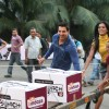 John Abraham at a promotional event for Channel UTV Bindass new show Big Switch held in Mumbai on 23rd October 2009