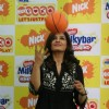 Bollywood Actor Raveena Tandon poses for the photographers during the announcement of Nickelodeon''s pioneering worldwide movement ''Let''s Just Play'' India''s first Play-a-thon in Mumbai on Friday, 23 October 2009