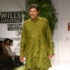 "Kapil Dev on the ramp during ""The Ashima and Leena Show"" at the Wills Lifestyle India Fashion Week in New Delhi on Saturday 24 Oct 09"