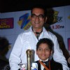 Abhijeet on the sets of Sa Re Ga Ma Little Champs Grand Finale