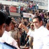 "Bollywood Star Salman Khan after selling tickets for his upcoming film ""London Dreams"" at Delite Theatre in New Delhi on Monday 26 Oct 2009"