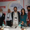 Shekhar Kapur and Tisca Chopra at Cinema scapes conference at Leela, Andheri, Mumbai on Wednesday