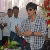 Shahrukh Khan''s bday press meet at mannat