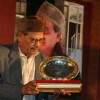 Manna Dey at the launch of Aapki Khidmat Mein, a collection of ghazals by Manna Dey in Kolkata on Monday 2nd Nov09