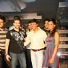 Director Madhur Bhandarkar, Bollywood actors Neil Nitin Mukesh and Mughda at the promotional event of their upcoming movie