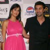 Bollywood actress Katrina Kaif and actor Ranbir Kapoor at the Ambience mall in Gurgaon for promotion their film '''' Ajab Prem Ki Ghazab Kahani'''' on Thursday New Delhi 05 Nov 2009