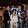 Shekhar Suman and Adhyayan Suman on ramp at the Luxurion show at Grand Hyatt