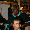 Bollywood actor Tusshar Kapoor at Cut-a-thon session in Oberoi Mall, Mumbai