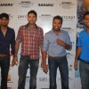 Harbhajan Singh, Yuvraj Singhat and Dhoni at Sahara Sports Awards at Taj Land''s End