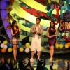Aftab Shivdasani and Aamna Sharif on the sets of Comedy Circus at Mohan Studio at Mohan Sudio
