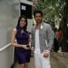 Aamna Sharif and Aftab Shivdasani on the sets of Comedy Circus at Mohan Studio at Mohan Sudio