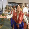 Welcome dance on the inaugural day of 15th Kolkata Film Festival at Nandan on Tuesday