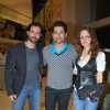 "Bollywod actors Hrithik Roshan, Aftab Shivdasani and Suzanne Roshan at the special screening of film ""Aao Wish Karein"", PVR Juhu"