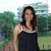 Bollywood actress Diana Hayden posing for photographers in Mumbai