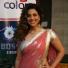 Tanaz on the sets of Big Boss at Lonavala