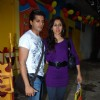 "Karan Vir and Teejay at the launch of kids book ""How To Teach So Kids Can Learn"" by Podar Institute"