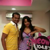 Bollywood Actress Sameera Reddy at Meow 1048 FM
