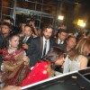 Hrithik Roshan with his wife at the Shilpa Shetty''s wedding reception
