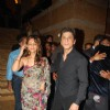 Shahrukh Khan and his wife Gauri Khan at the Shilpa Shetty''s wedding reception