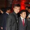 Vivek Oberoi and Adnan Sami at the Shilpa Shetty''s wedding reception