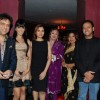 Govinda, Koena Mitra, Govinda''s daughter with her mother, Gulshan Grover and Jackie Shroff at the launch of Purnima Lamchae and Misti Mukherjee''s Films at Enigma