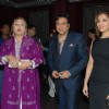 Govinda with his daughter and wife at the launch of Purnima Lamchae and Misti Mukherjee''s Films at Enigma