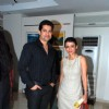 Anaida and Ritesh Deshmukh at SPJ Sadhana School Exhibition at Art & Soul Gallery, Worli