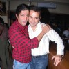 Chunky Pandey with Nicolo Morea at Sahil Zaroo''s birthday bash at Elbow Room