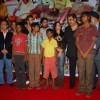 "Rakesh Bedi, Kashmira Shah, Kumar Sanu and Sunidi Chauhan at ""Yeh Sunday Kyun Aata Hai"" film music launch at Raheja Classic"