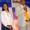 "Tata Teleservice Sanjiv Sinha, Regional Head East & Chief Operating Officer, Tata Teleservices Limited Kolkata Circle at the unveiling of ""New Tata Walky Ghar Ka Phone "" actress Rimjhim Mitra also in the picture, in Kolkata on 30"