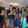 "Bollywood actor Aamir Khan, Katrina Kaif and Karan Johar at ""Cineblitz Gold"" issue launch in Taj Lands End"