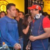 Bollywood actor Salman Khan at Gold''s Gym Mega Spinnathon 2009