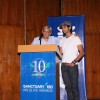 Editor of Sanctuary mag Bittu Sahgal & actor Purab Kohli at NCPA