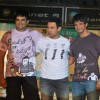 Madhavan, Aamir Khan and Sharman Joshi at Pantaloons 3 Idiots Fashion Show at Phoneix Mill (IANS: Photo)