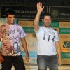 Madhavan and Aamir Khan at Pantaloons 3 Idiots Fashion Show at Phoneix Mill (IANS: Photo)