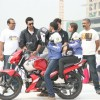 Ranbir Kapoor at the Big Adda Yamaha Bike Rally
